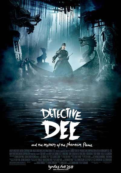 Детектив Ди и тайна призрачного пламени